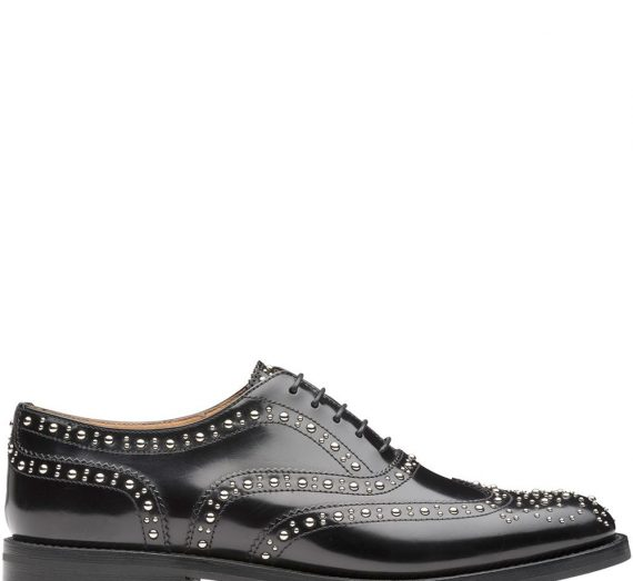 Leather Lace-up Brogues дамски обувки Church's 842587247_38_5
