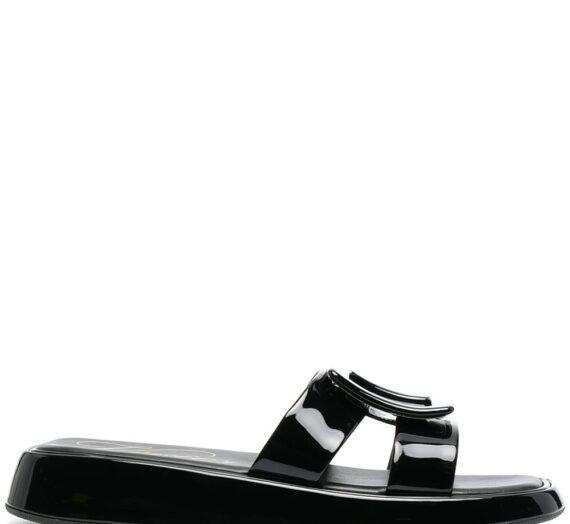 Patent Leather Vivier Slides дамски обувки Roger Vivier 842688552_39