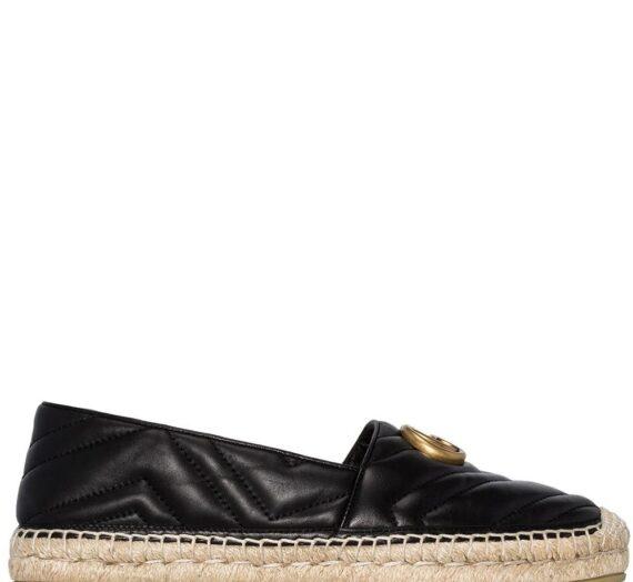 Leather Espadrillas дамски обувки Gucci 842831830_41