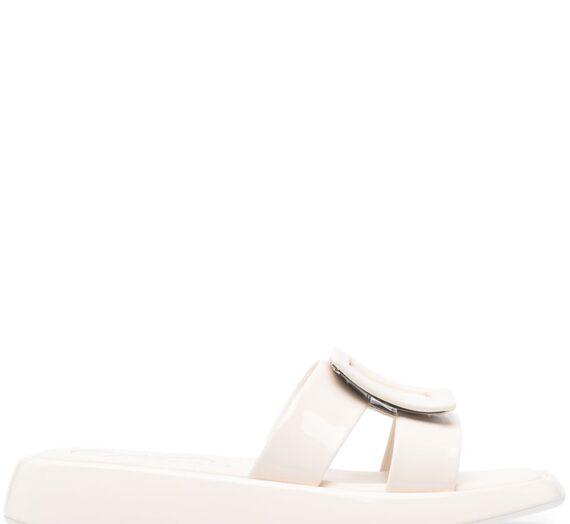 Patent Leather Vivier Slides дамски обувки Roger Vivier 843316569_39