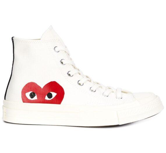 Chuck Taylor Sneakers дамски обувки Comme Des GarÇons Play 843467953_8