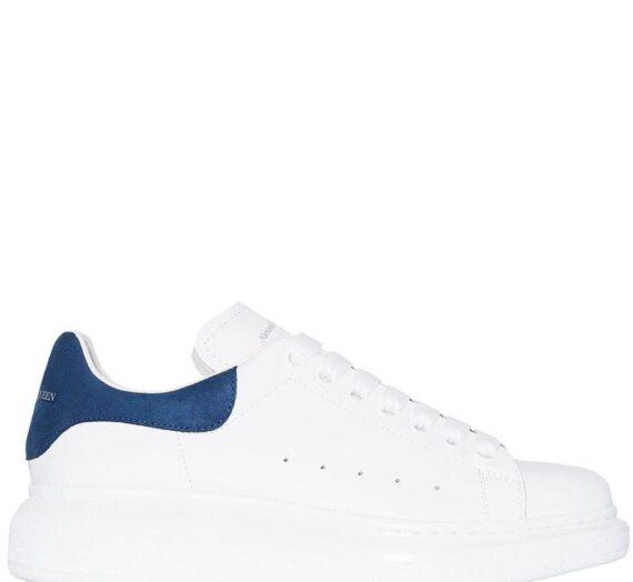 Oversized Leather Sneakers дамски обувки Alexander Mcqueen 843642172_36_5