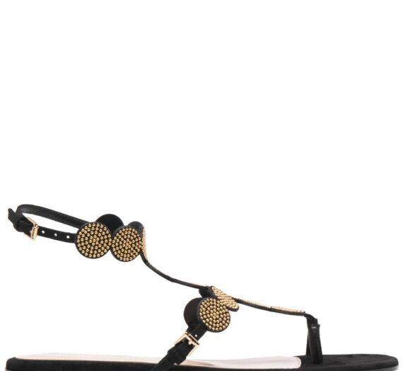 Babylon Suede Sandals дамски обувки Gianvito Rossi 843643021_36