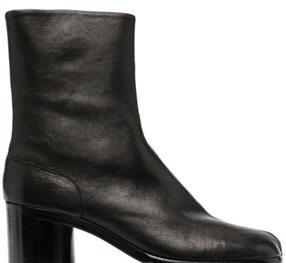 Tabi Leather Boots дамски обувки Maison Margiela 843788180_35_5