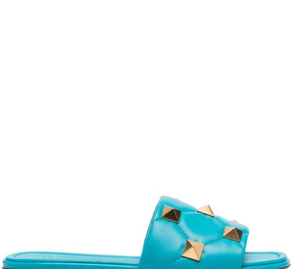 Roman Stud Leather Sandals дамски обувки Valentino Garavani 843871262_36