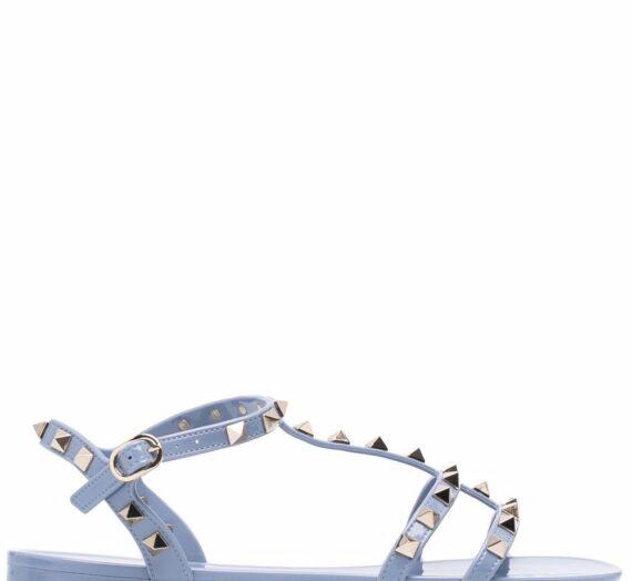 Rockstud Flat Sandals дамски обувки Valentino Garavani 844039763_35