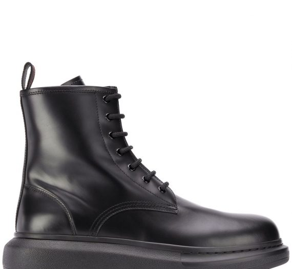 Oversized Leather Boots мъжки обувки Alexander Mcqueen 844184121_40