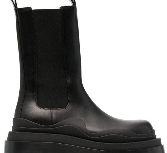 The Tire Leather Boots дамски обувки Bottega Veneta 845258871_39_5