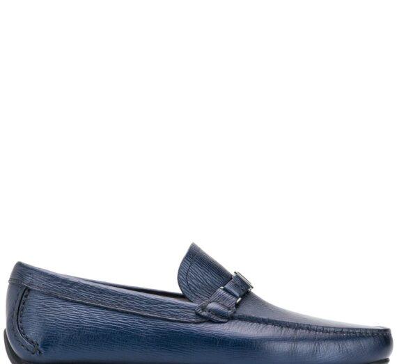 Amer Leatehr Loafers мъжки обувки Salvatore Ferragamo 845698151_5