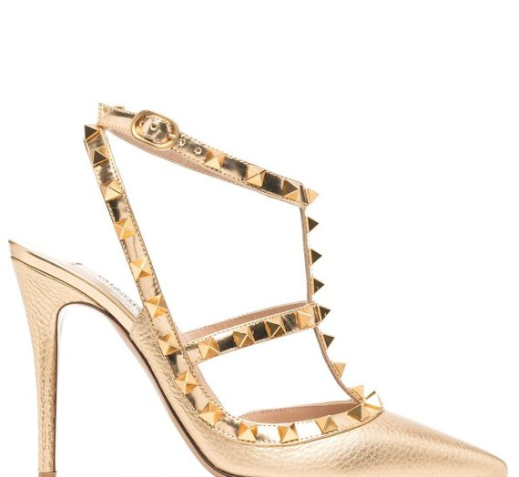 Rockstud Patent Leather Slingback Pumps дамски обувки Valentino Garavani 846009677_36_5