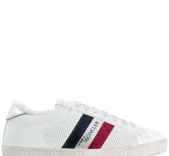 Leather Sneakers дамски обувки Moncler 846099719_36