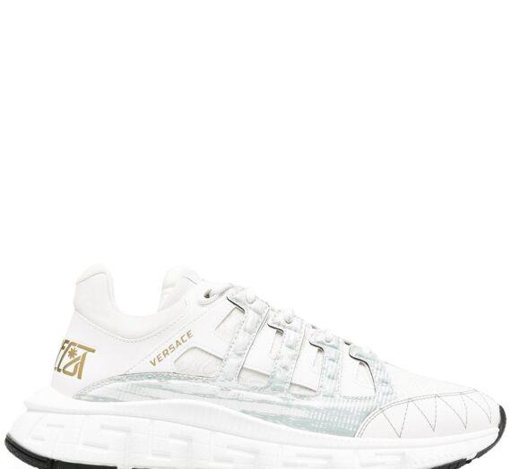 Leather Sneakers мъжки обувки Versace 846238559_39
