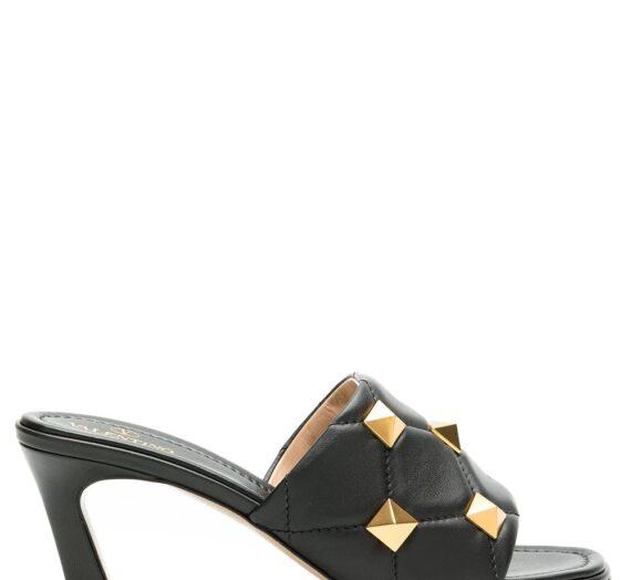 Roman Stud Leather Mules дамски обувки Valentino Garavani 846239220_35_5