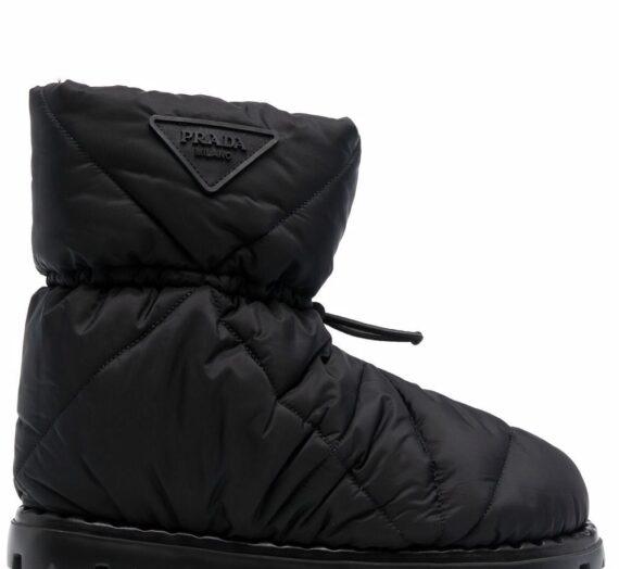 Logo Ankle Boots дамски обувки Prada 846374432_40