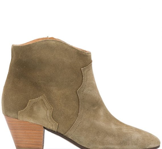 Dicker Suede Leather Boots дамски обувки Isabel Marant 846394621_36