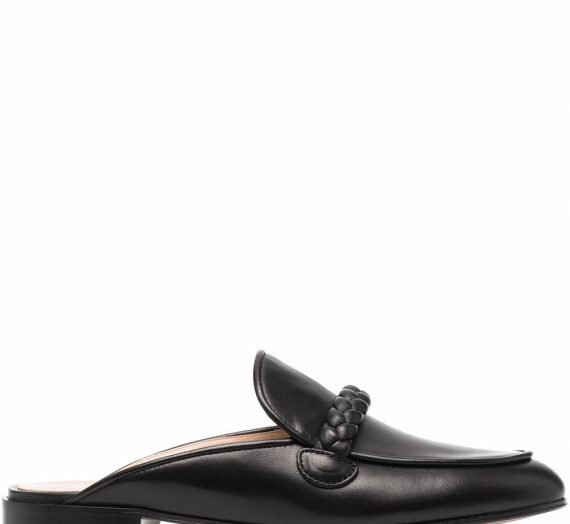 Belem Leather Slippers дамски обувки Gianvito Rossi 846423621_36
