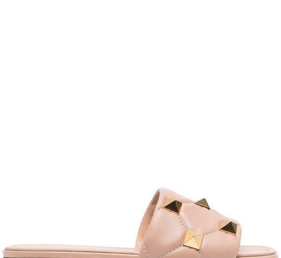 Roman Stud Leather Sandals дамски обувки Valentino Garavani 846432209_35_5