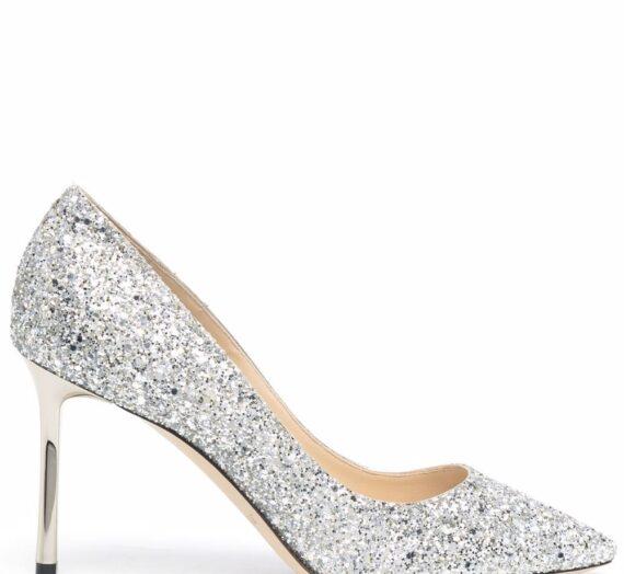 Romy Glittered Pumps дамски обувки Jimmy Choo 846538823_38