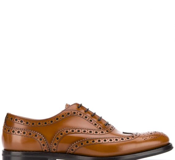 Leather Lace-up Shoes дамски обувки Church's 846539990_38