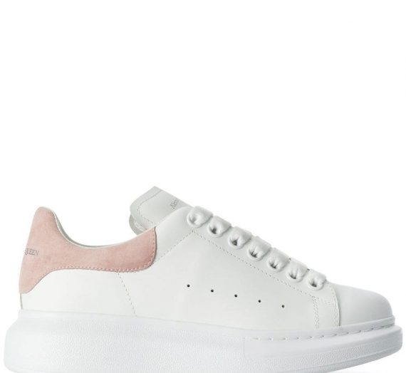 Oversized Leather Sneakers дамски обувки Alexander Mcqueen 846664199_35_5