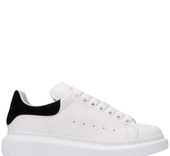 Oversized Leather Sneakers дамски обувки Alexander Mcqueen 846794893_35