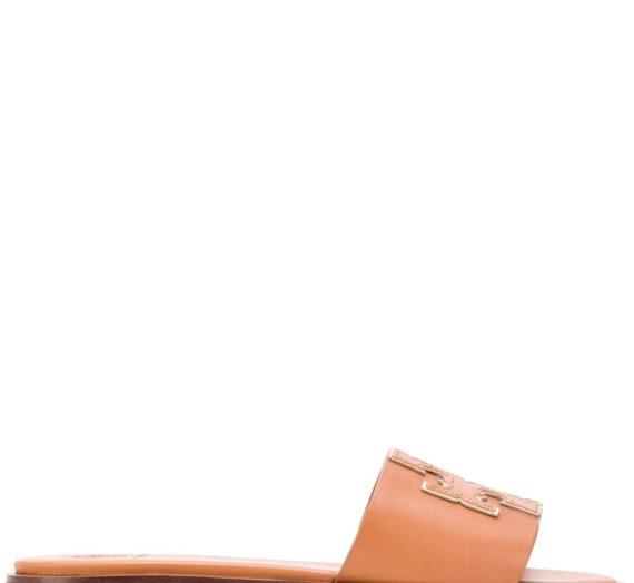 Ines Leather Flat Sandals дамски обувки Tory Burch 846844404_10
