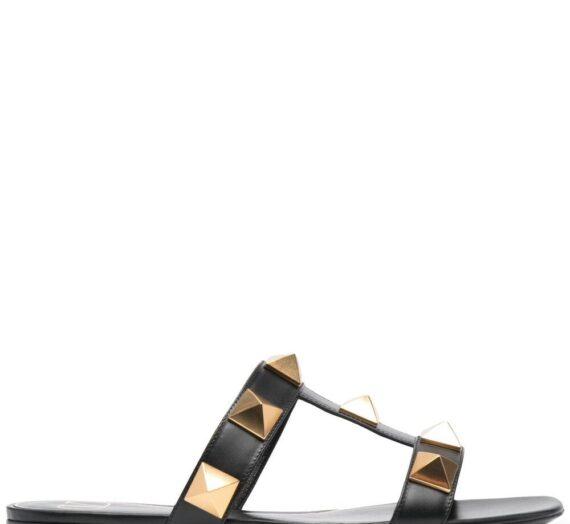 Roman Stud Leather Sandals дамски обувки Valentino Garavani 847093186_35_5