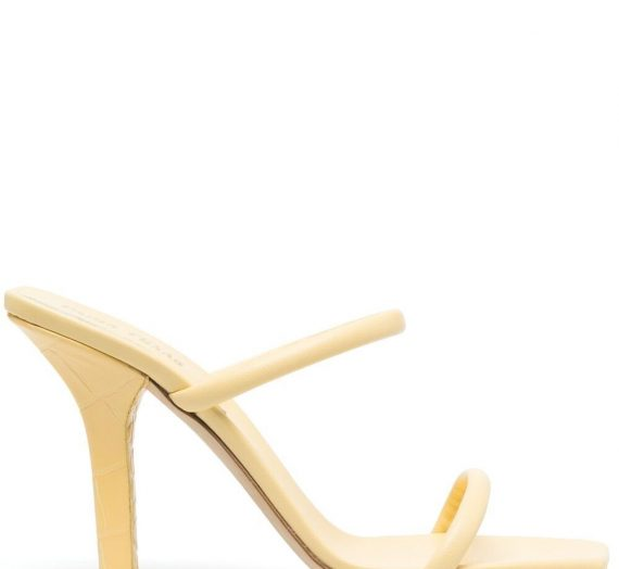 Linda Leather Mules дамски обувки Paris Texas 847534533_37