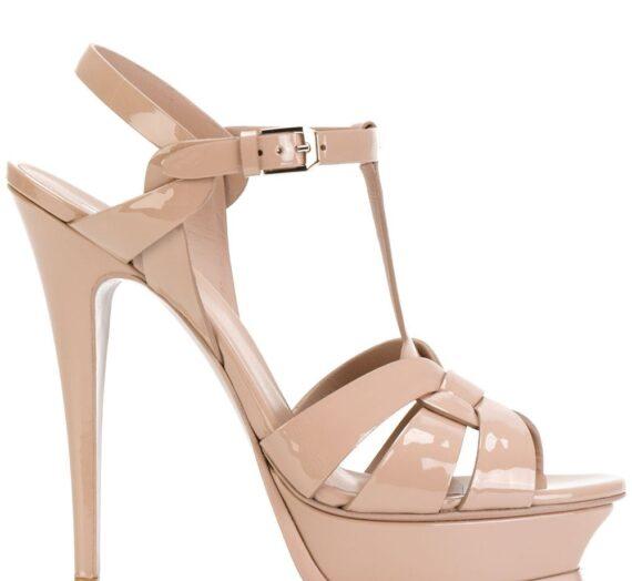 Tribute Patent Leather Sandals дамски обувки Saint Laurent 847726714_35_5