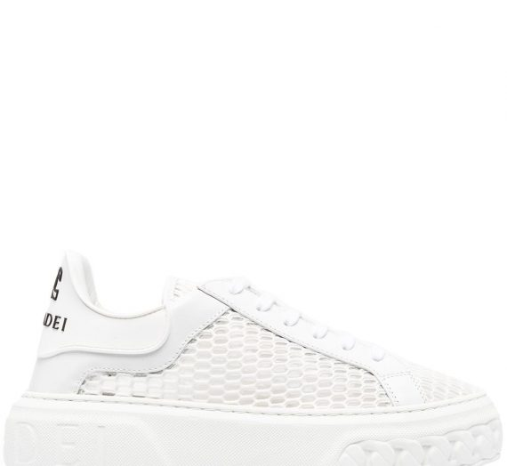 Logo Leather Sneakers дамски обувки Casadei 848066365_38