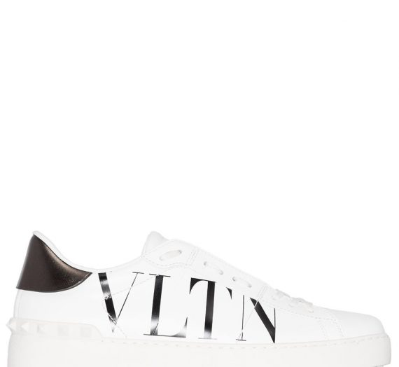 Open Vltn Leather Sneakers дамски обувки Valentino Garavani 848122337_35