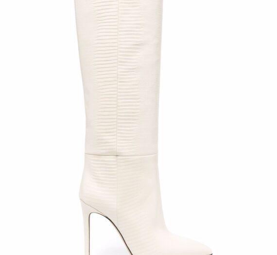 Lizard Print Leather Boots дамски обувки Paris Texas 848138062_36