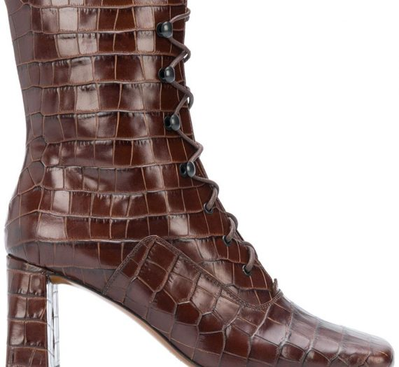 Claude Leather Boots дамски обувки By Far 848782655_41