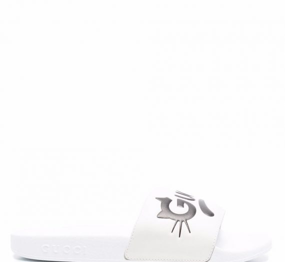 Leather Sandals дамски обувки Gucci 849209121_35