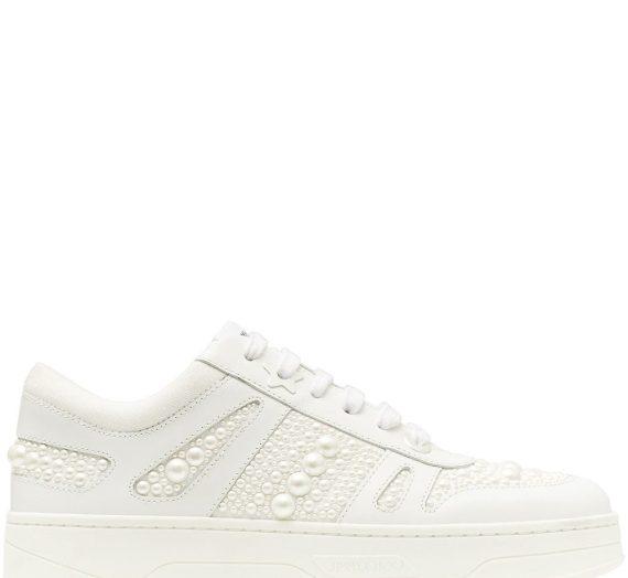Hawaii Leather Sneakers дамски обувки Jimmy Choo 849358895_35