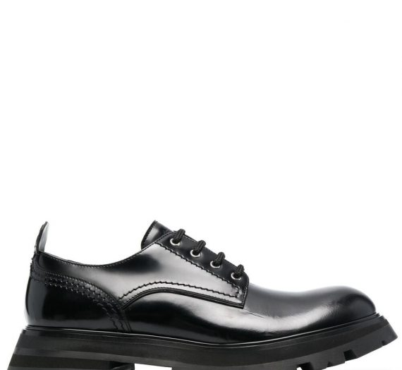 Wander Leather Lace Up Shoes дамски обувки Alexander Mcqueen 849499781_37