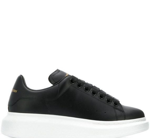 Oversized Leather Sneakers дамски обувки Alexander Mcqueen 849750990_35