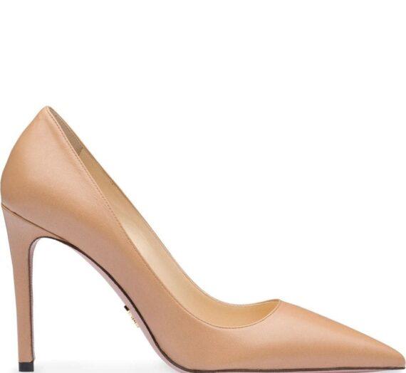 Leather Pumps дамски обувки Prada 849755040_37