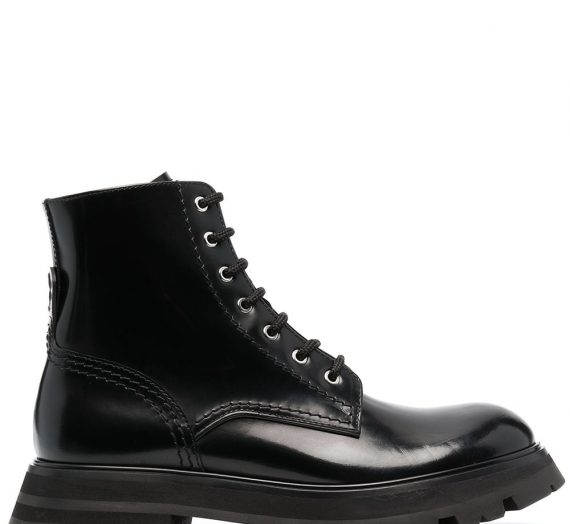Wander Leather Boots дамски обувки Alexander Mcqueen 849781242_36