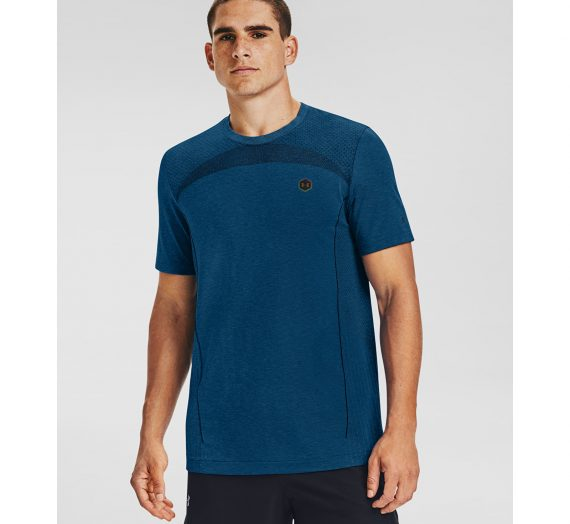Тениски Under Armour Rush Seamless Fitted Ss Blue 903433