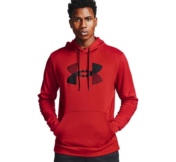 Суичъри и пуловери Under Armour Fleece Big Logo Hoodie Red 905122
