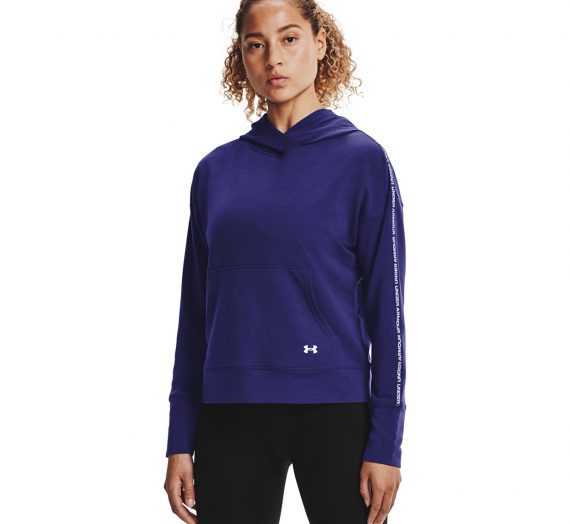 Суичъри и пуловери Under Armour Rival Terry Taped Hoodie Blue 906220