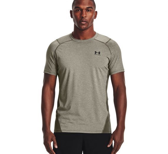 Тениски Under Armour Hg Armour Fitted Ss Green 907690