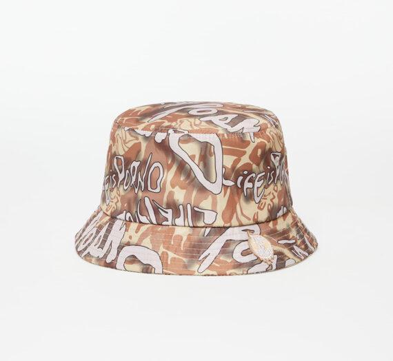 Бъкет шапки LIFE IS PORNO Bucket Hat Lip Camo Green 945391