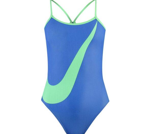 Жени  Дамско облекло  Цели бански & Половинки  Бански за плуване Nike Swoosh Tank Swimsuit Ladies 962380-5954896