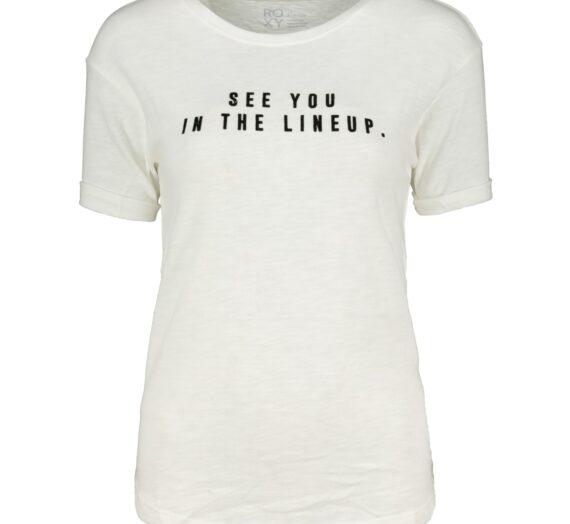 Жени  Дамско облекло  Блузи  С къс ръкав Women's t-shirt ROXY FOLLOWBEACHD J TEES 964204-5962261