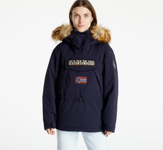 Якета и палта Napapijri Skidoo Woman EF 3 Jacket Blue Marine 1045108