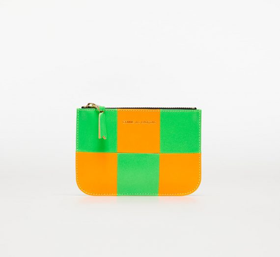 Портфейли Comme des Garçons Fluo Squares Wallet Orange/ Green 1046437