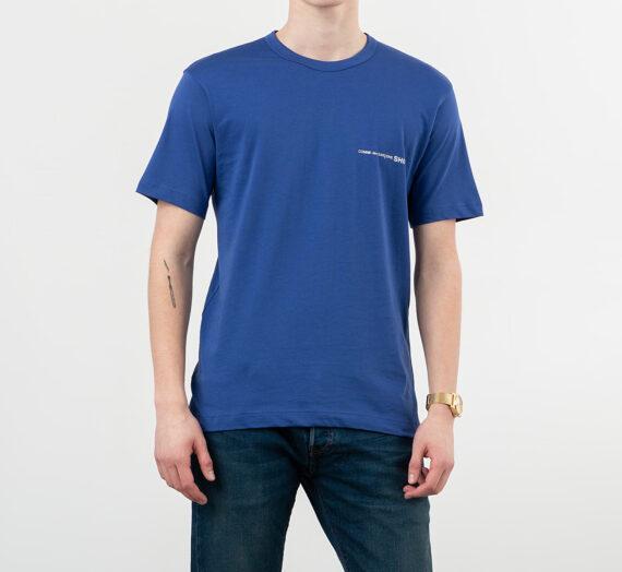 Тениски Comme des Garçons SHIRT Logo Tee Blue 354548