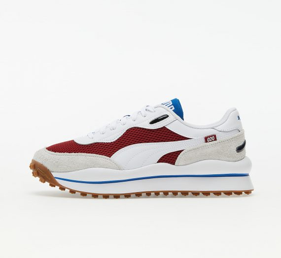 Мъжки кецове и обувки Puma Style Rider Warm Texture Red Dahlia-Puma White 421417